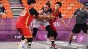 07月28日 女篮三人篮球半决赛 俄罗斯vs中国 录像 集锦